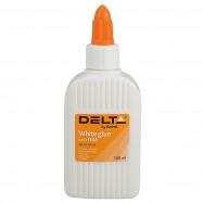 Клей ПВА 100 мл, колпачок-дозатор Delta by Axent