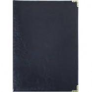 ППВ-5 Папка поздравит.Miradur черный  Ф.230х320 Пр.уг.