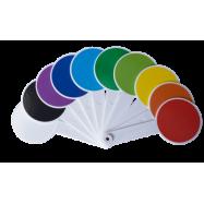 Набор цветов и геометрических фигур (веер)