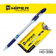 Ручка масляная Hiper Max Writer HO-335 2500 м 0.7 мм красная