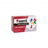 Кнопки-гвоздики цветные, 30 шт. Axent