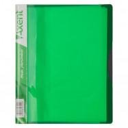 Дисплей-книга 20 файлов A5, салатовая Axent