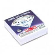 Бумага для заметок белая неклеен. 300л, 85мм*85мм, Кристал