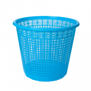 Корзина для бумаги 8 л, ZiBi, синяя