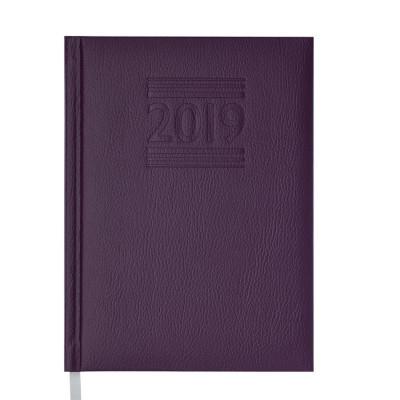 Ежедневник датированный 2019 BELCANTO, A5, 336 л, фиолетовый