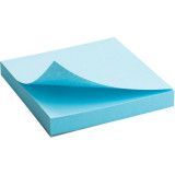Блок бумаги с липким слоем 75x75мм, 100л, син