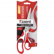 Ножницы Shell, 21 см, бело-красные Axent