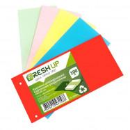 Разделитель картонный 105*240, 100 л, цветной