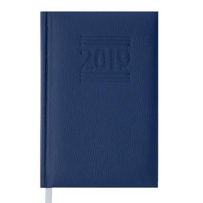 Ежедневник датированный 2019 BELCANTO , A6, 336 л, синий