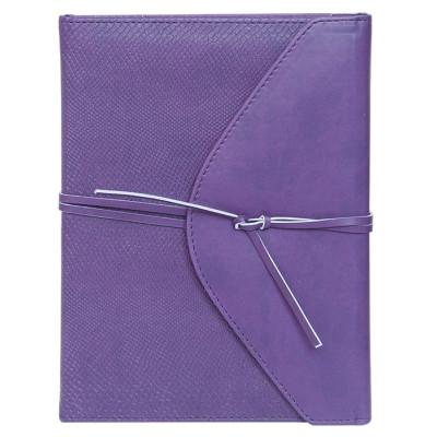 Ежедневник недатированный BELLA, A5, 288 стр. фиолетовый