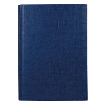 Ежедневник датированный 2019, Economix , BASIC, синий, А5