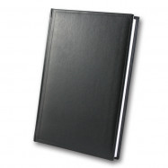 Ежедневник недатированный, Brisk, Miradur 63, черный, А5 клет