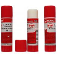 Клей-карандаш, 36г, PVP, 4630, NORMA