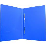Папка-скоросш. СLIP A  Light, с карманом, синяя
