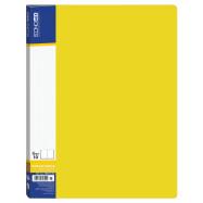 Папка А4 ECONOMIX на 10 файлов желтая