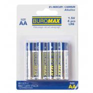 Набор батареек LR6 (AA) 4шт/упак