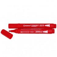 маркер перман, 2,5-4,5мм, кругл, 400 метров, красный 223-01N, NORMA