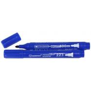 маркер перман, 2,5-4,5мм, кругл, 400 метров, синий, 223-06N, NORMA