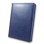 Ежедневник недатированный, Brisk, SARIF 431, синий+серебро, А5