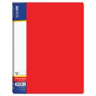 Папка А4 ECONOMIX на 10 файлов, красная