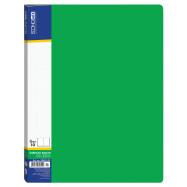 Папка А4 ECONOMIX на 10 файлов, зеленая