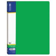 Папка А4 ECONOMIX на 30 файлов, зеленая