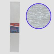 KRPL-80101 Креп-бумага 30%, перламутровый белый 50*200см, 20г/м2