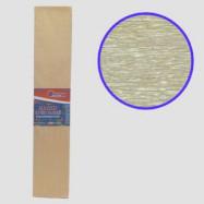 KRPL-80103 Креп-бумага 30%, перламутровый золотистый 50*200см, 20г/м2