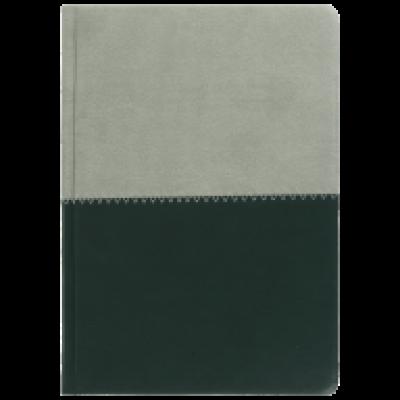 Ежедневник датированный 2018, Buromax QUATTRO, серый + т.зеленый, А5