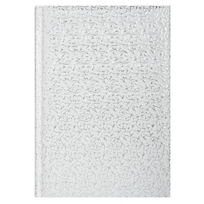 Ежедневник датированный 2019, Economix, SULTAN, серебряно-белый, А5