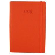 Ежедневник датированный 2018, Optima, CROSS, оранжевый, А5