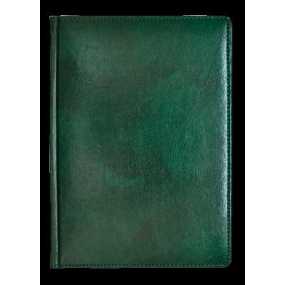 Ежедневник недатированный, Brisk, Madera 15, зеленый, А6