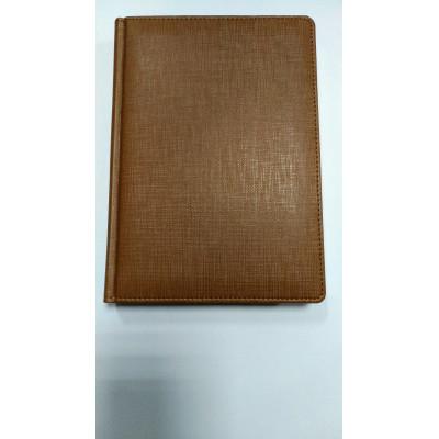 Ежедневник недатированный, Brisk, NILO ЗВ-431, св.-коричневый+золото, А5