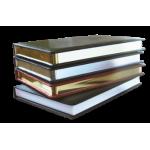 Ежедневник недатированный, Brisk, SARIF 431, кр-коричн+золото, А5