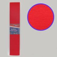 KR55-8001 Креп-бумага 55%, красный 50*200см, 20г/м2