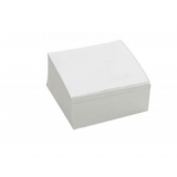 Бумага для заметок белая неклеен. 400л, 85мм*85мм, Кристал