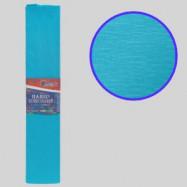 KR55-8009 Креп-бумага 55%, морская волна 50*200см, 20г/м2