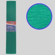 KR55-8010 Креп-бумага 55%, зеленый 50*200см, 20г/м2