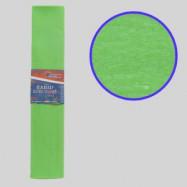 KR55-8012 Креп-бумага 55%, салатовый 50*200см, 20г/м2