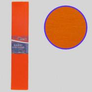 KR55-8015 Креп-бумага 55%, оранжевый 50*200см, 20г/м2