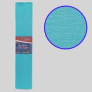 KR55-8023 Креп-бумага 55%, светло-голубой 50*200см, 20г/м2