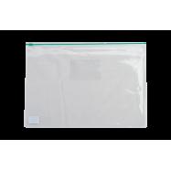 Папка-конверт А4, пласт. на молнии, BM3946-04 зеленый