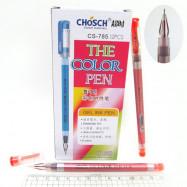 """CS-785 Ручка гел. """"Chosch"""" наконечник бриллиант 0,38 красная"""