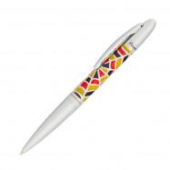 """Ручка шариковая """"Mosaic"""", ассорти в подарочном футляре"""