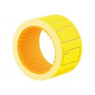 "Этикетки-ценники ""Ціна"" 30х20 мм Economix, 200 шт/рул., желтые E21306-05"