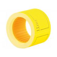"Этикетки-ценники ""Ціна"" 50х40 мм Economix, 100 шт/рул., желтые E21307-05"