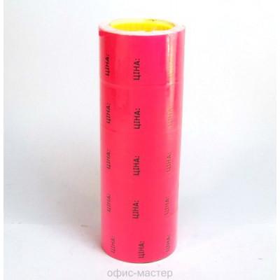 Ценник флюо TCBIL3040 прям.200шт/рол  малин.
