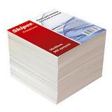 Блок паперу для нотаток 85х85х80 білий, не клеян. в індивід.упак.
