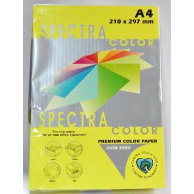 Бумага цв.А4/75 500арк. неон Yellow 363 (желт) SPECTRA COLOR