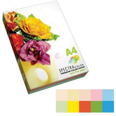 """Бумага цв.А4/80 10х10/100л. 10 цв.SPECTRA COLOR-Rainbow Pack (супер микс) ІТ 85 """"В"""""""